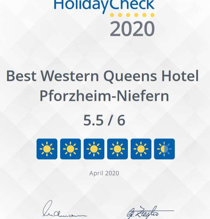 HolidayCheck Auszeichnung 2020