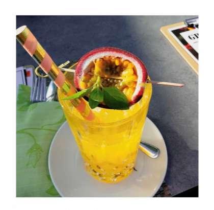 Erfrischender Sommer Cocktail