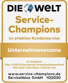 Service Champion 2020