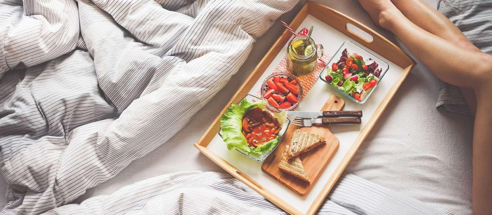 Langschläfer Frühstück am Sonntag
